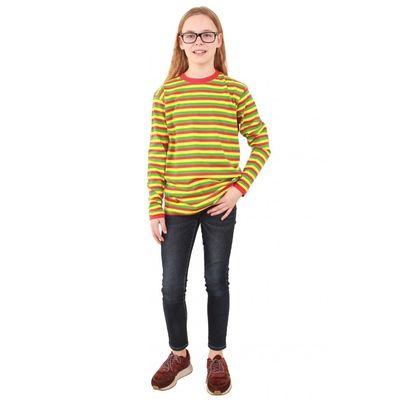 Dorustrui rood/geel/groen kind