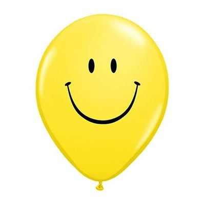 Ballonnen smiley (30cm) 100st
