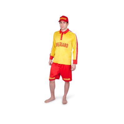 Foto van Strandwacht kostuum heren