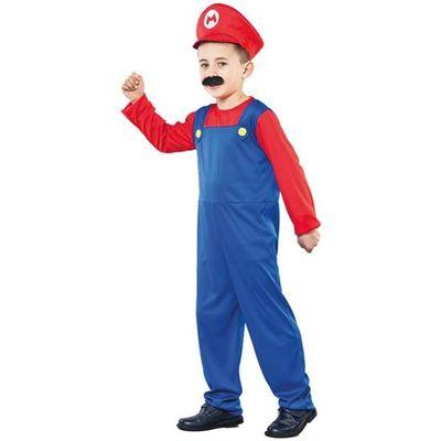 Mario kostuum peuter