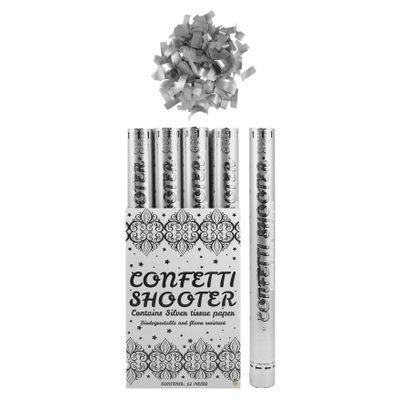 Foto van Party Shooter zilver 50cm Biologisch afbreekbaar