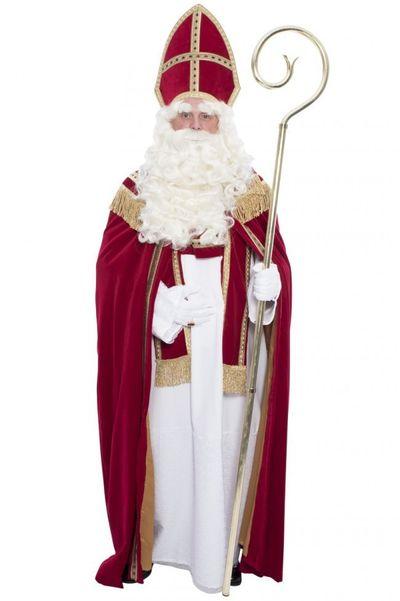 Sinterklaas kostuum katoen fluweel