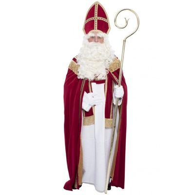 Foto van Sinterklaas kostuum katoen fluweel