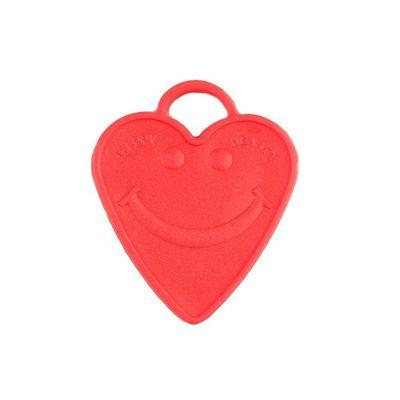 Ballon Gewicht Rood Hart 100gr