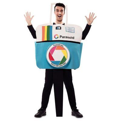 Foto van Polaroid camera kostuum