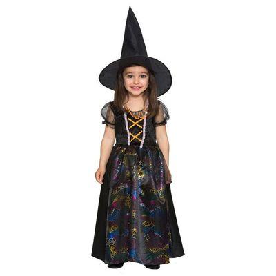 Heksenjurk kind - Zwart