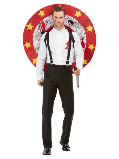 Circus messenwerper kostuum