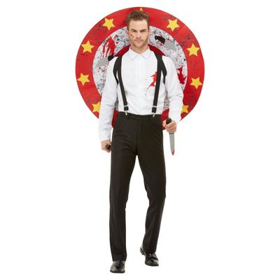 Foto van Circus messenwerper kostuum