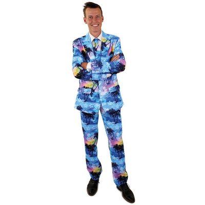 Foto van Tropical holiday kostuum 3-delig heren