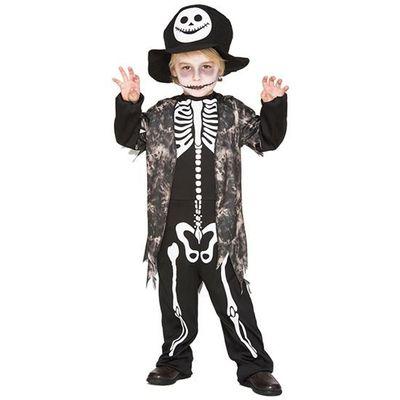Foto van Skelet Pak kind - piraat