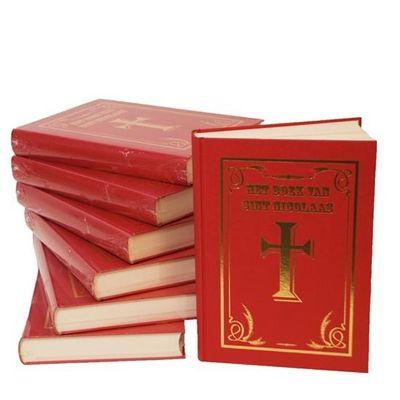Sinterklaasboek met kruis