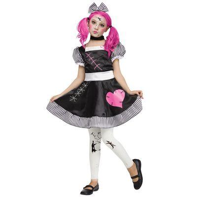 Foto van Poppen kostuum meisjes