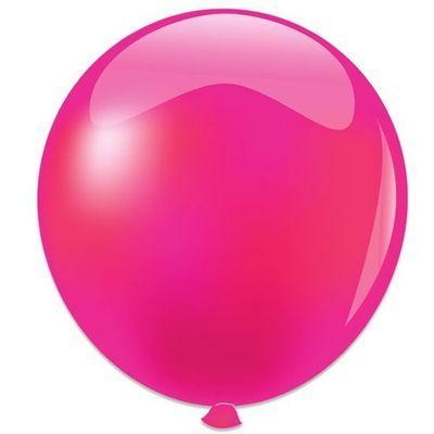 Topballon metallic fuchsia (91cm)
