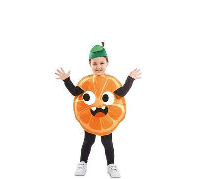 Sinaasappel kostuum peuter