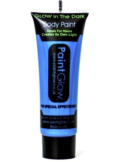 Glow in the dark - Body paint Blauw