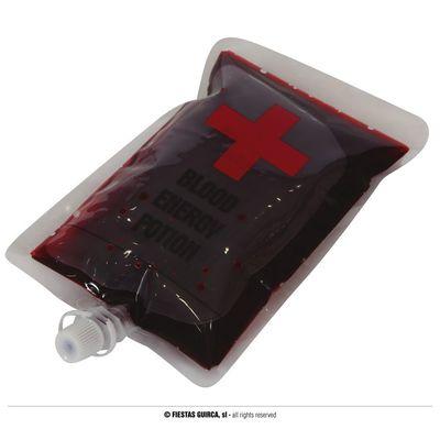 Foto van Nep infuus met bloed