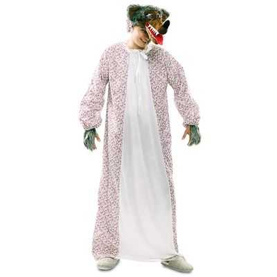 Grote boze wolf kostuum luxe