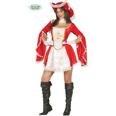Foto van Musketier kostuum dames