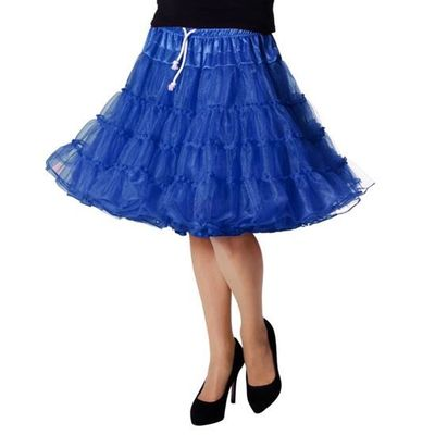 Petticoat rok blauw