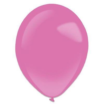 Ballonnen hot pink (35cm) 50st