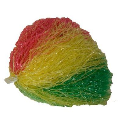 Cheerleader pompon rood/geel/groen