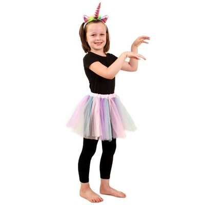 Foto van Tule rokje kind - unicorn