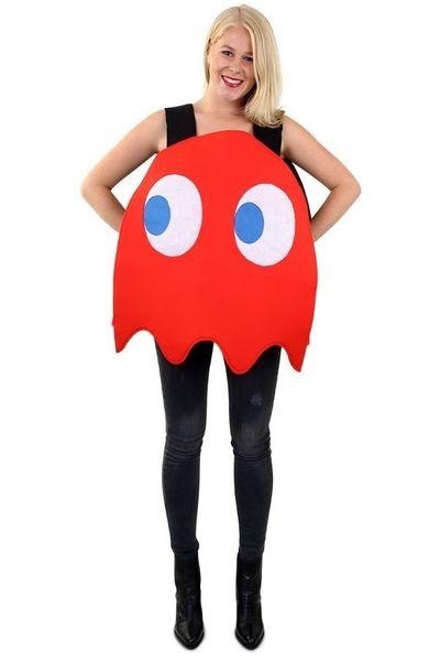 Rood spookje kostuum unisex one size