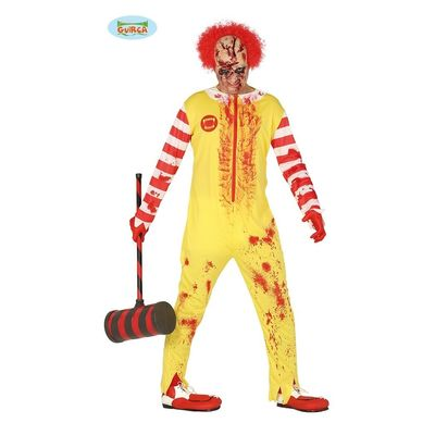 Foto van Mac Donalds Clown kostuum