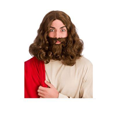 Foto van Jezus pruik met baard