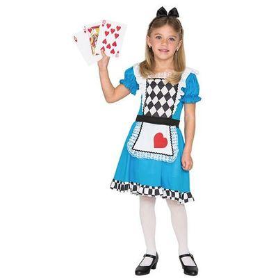 Alice in Wonderland kostuum kind