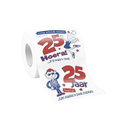 25 jaar wc rol