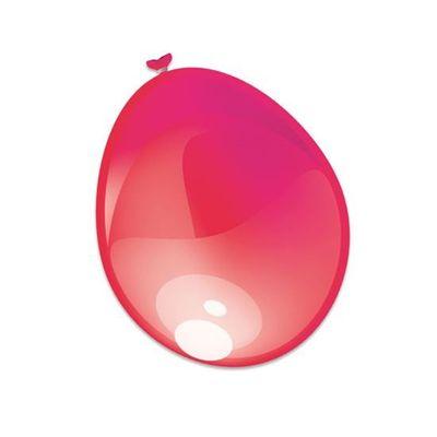 Ballonnen Metallic Geel 50st