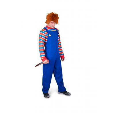Foto van Chucky kostuum heren