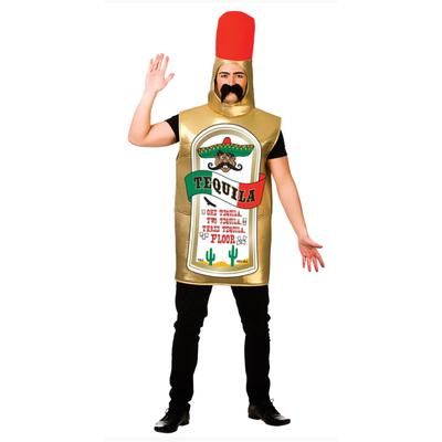 Foto van Tequila gold kostuum