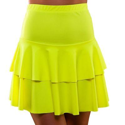 Foto van Neon rokje geel