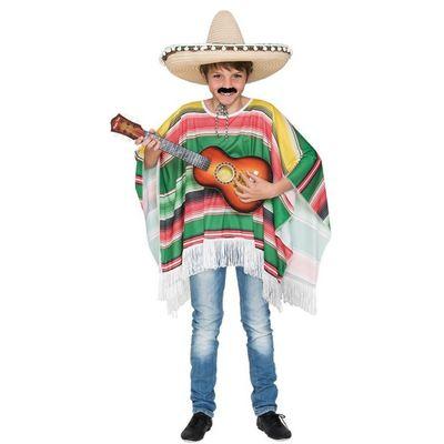 Foto van Mexicaanse poncho kind