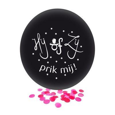 Foto van Ballon gender reveal ZIJ