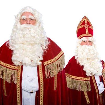 Foto van Sinterklaas baard Sint deluxe TV 34.122