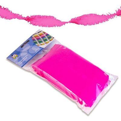 Crepe slinger neon roze 6m