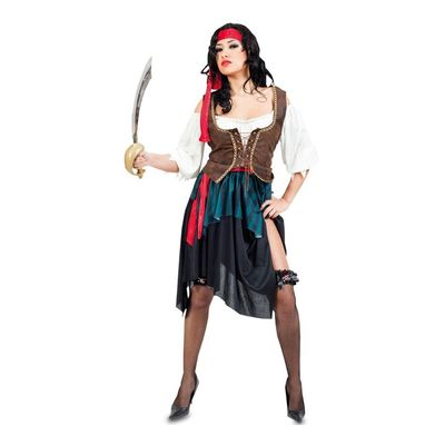 Foto van Jack sparrow kostuum dames