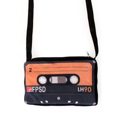 Foto van Cassettebandje schoudertas