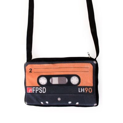 Cassettebandje schoudertas