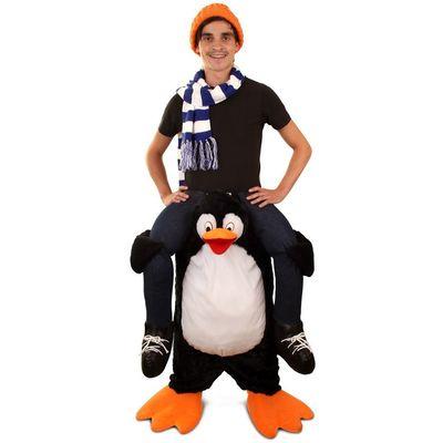 Foto van Carry me kostuum Pinguin Luxe