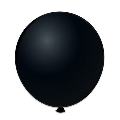 Ballonnen zwart (61cm)