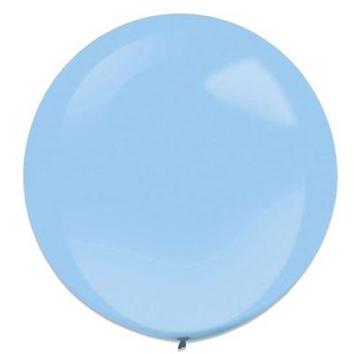 Ballonnen pastel blue (60cm) 4st
