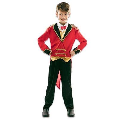 Foto van Circusartiest kostuum jongen