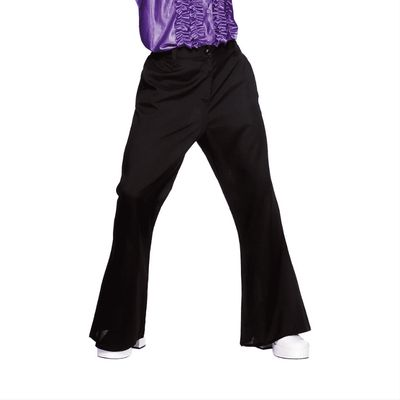 Hippie Disco broek zwart