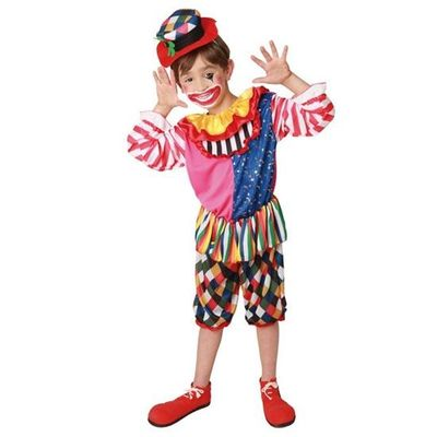 Foto van Clown kostuum kind