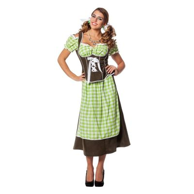 Foto van Dirndl jurk lang - Eva (plus size)