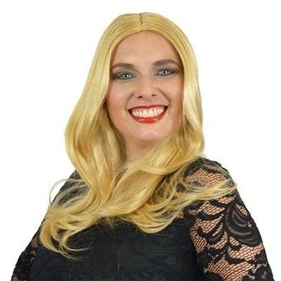 Yvette pruik blond